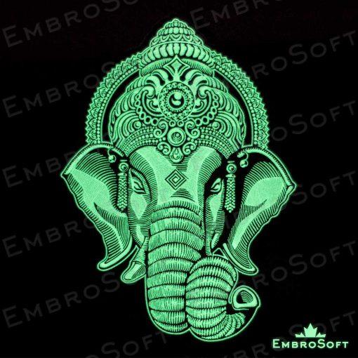 Head Of Ganesha Glow In The Dark Right