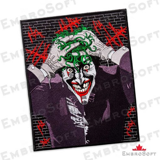 The embroidered patch Joker