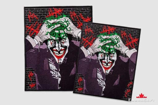The embroidered patch Joker - collage