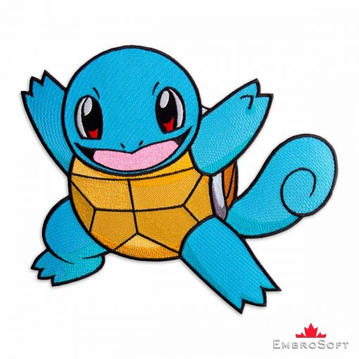 Squirtle Pokemon Embroidered Patch Games