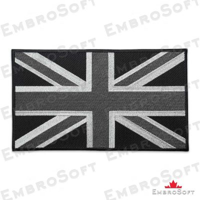 The embroidered patch Flag of United Kingdom