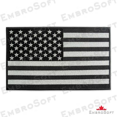 The embroidered patch Flag of United States of America