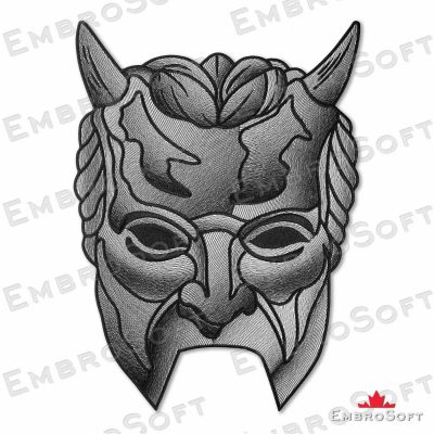Ghost BC Nameless Ghouls Shadow Man's Mask Large Frontal