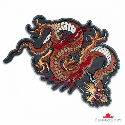 Brown Dragon Right