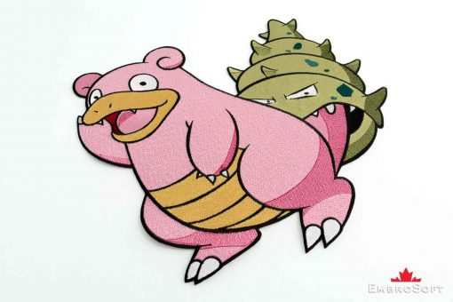 The embroidered patch Slowbro Pokemon - portrait photo
