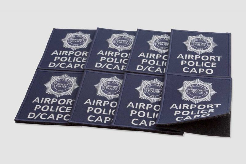 Airport police CAPO, corc airport, embroidered patch