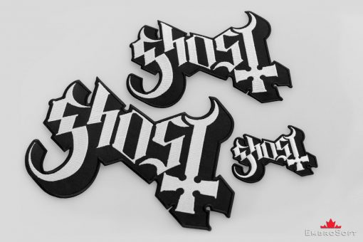Ghost Band Logo Text Collage