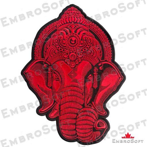 Head Ganesha Red