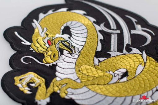Golden Dragon Macro In Angle