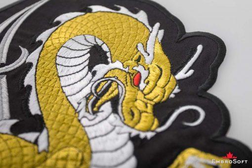 Golden Dragon Macro Photo