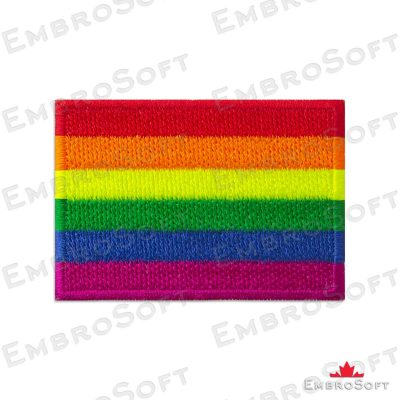 LGBT flag patch Embrosoft