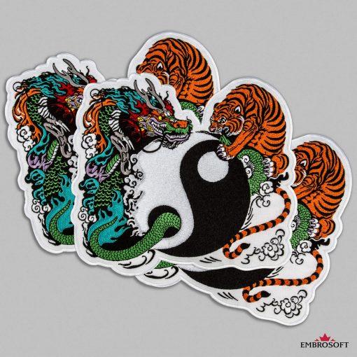 Yin Yang collage