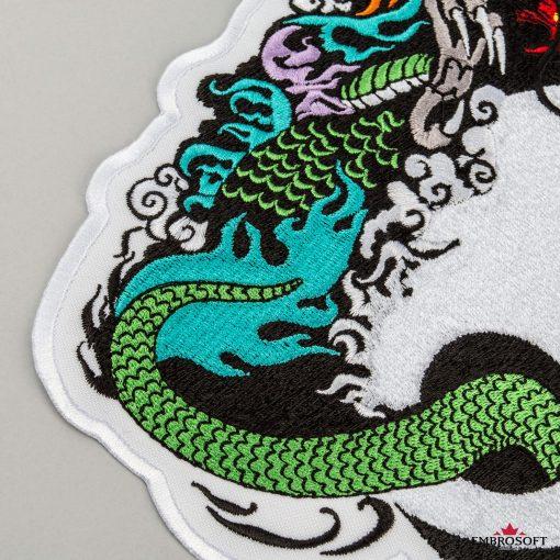 Yin Yang dragon mackro