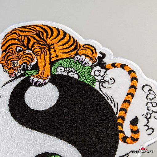 Yin Yang tiger incline