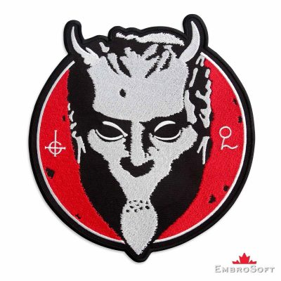 Nameless Ghouls Embroidered Patch Frontal Photo