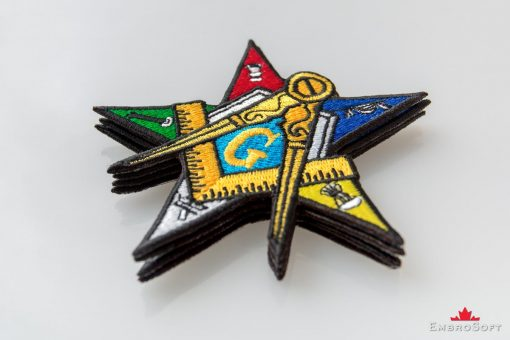 Order of the Eastern Star Lying On Surface