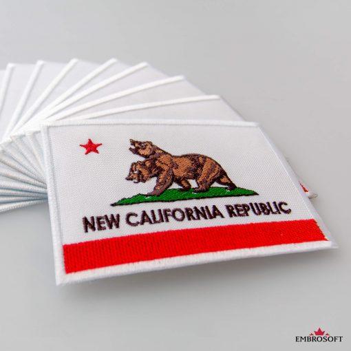 Fallout New California Republic gray background