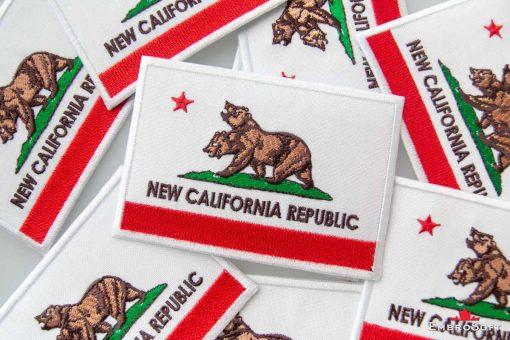 Fallout New California Republic Flag Background