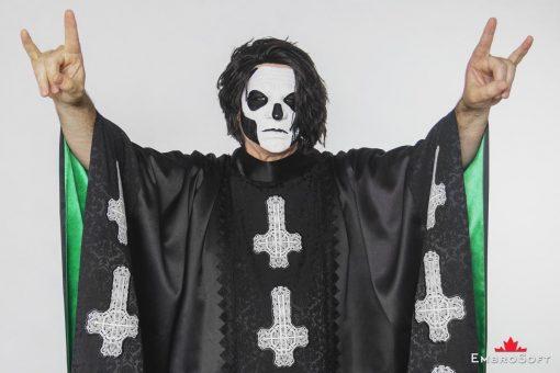 Ghost Papa Emeritus Cloak Man