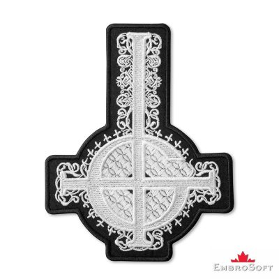 New Black & White Cross Papa Emeritus Ghost Frontal