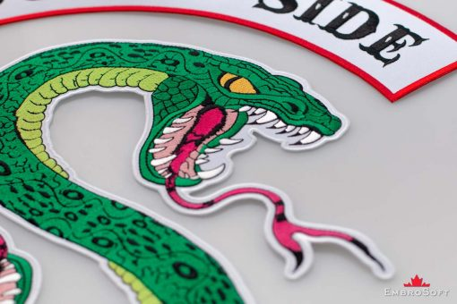 Riverdale South Side Serpents Emblem Macro1