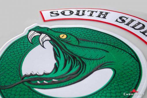 Riverdale South Side Serpents Logotype Medium Large Macro 2