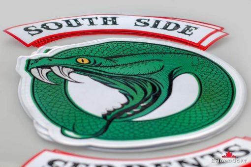 Riverdale South Side Serpents Logotype Medium Large Macro 1