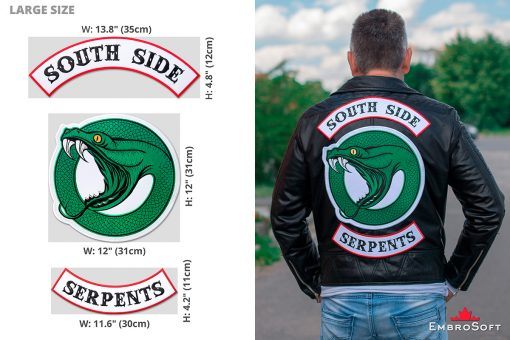 Riverdale South Side Serpents Logotype Large Example