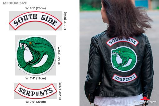 Riverdale South Side Serpents Logotype Medium Example