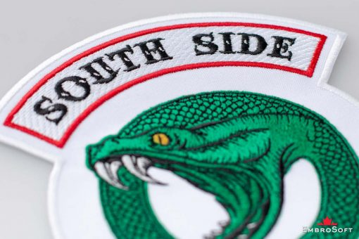 Riverdale South Side Serpents Logotype Small White Macro 1