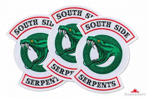 Riverdale South Side Serpents Logotype Small Collage
