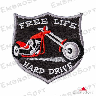 Red Chopper Frontal