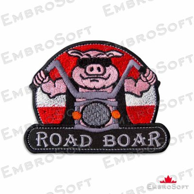 Brutal Boar of a Bike Frontal