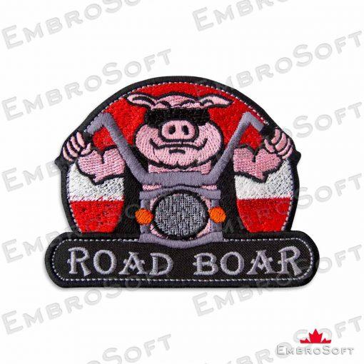 Brutal Boar of a Bike Frontal