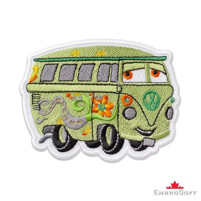 Cars Fillmore Embroidered Patch Iron On Cars