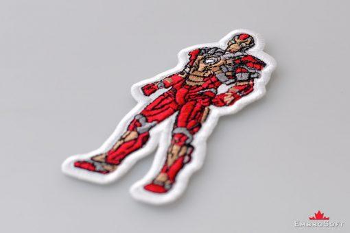 Iron Man Marvel Comics Lying On Surface