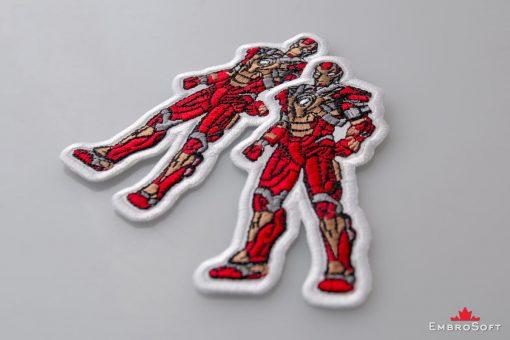 Iron Man Marvel Comics Lying On Surface Collage