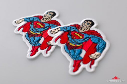 Superman DC Comics Lying On Surface Collage