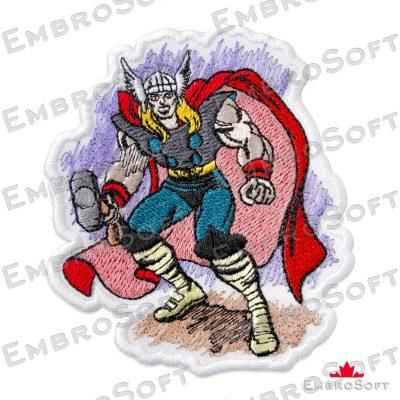Thor Marvel Comics Frontal