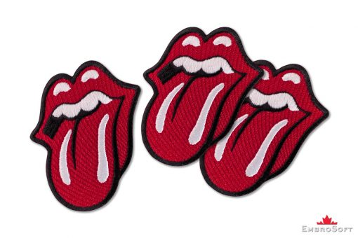 The Rolling Stones' Logo Tongue Collage