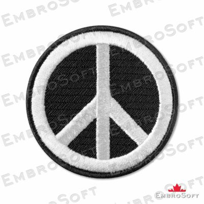 Pacific Peace Symbol Frontal