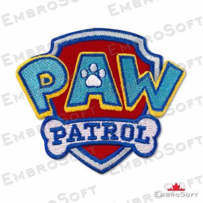 Paw Patrol Logo Frontal