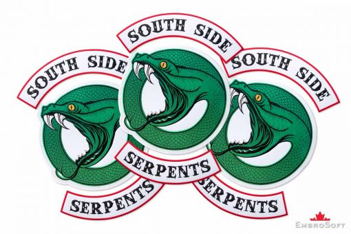 South Side Serpents Riverdale Snake Large Collage
