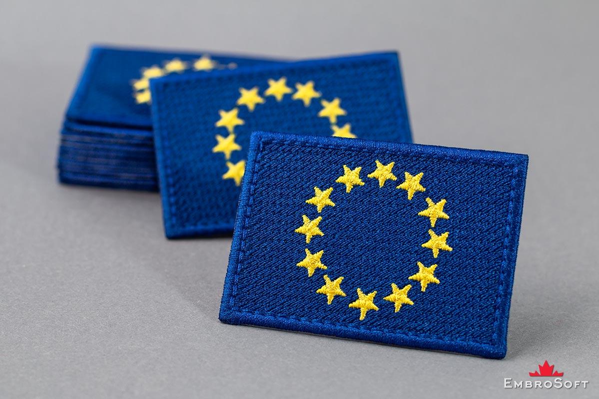 Aufn/äher Patch Flagge Europ/äische Union EU 8 x 6 cm