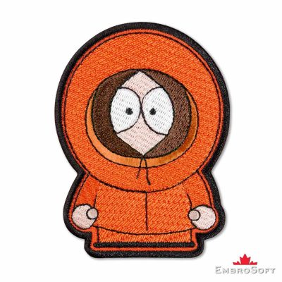 South Park Kenny McCormick Embroidered Patch Frontal Photo