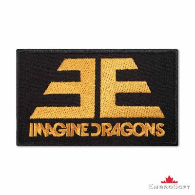 Imagine Dragons Evolve Embroidered Patch (4.3″ x 2.5″) Imagine Dragons