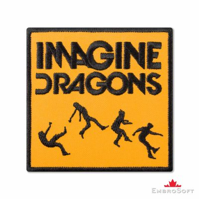 Imagine Dragons On Top of The World Embroidered Patch (3.3″ x 3.3″) Imagine Dragons