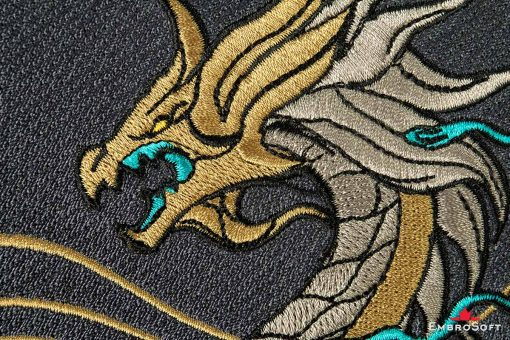 Dragon K/DA Akali from League of Legends LOL Embroidered Patch Macro Photo