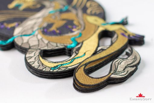 Dragon K/DA Akali from League of Legends LOL Embroidered Patch Pile Photo
