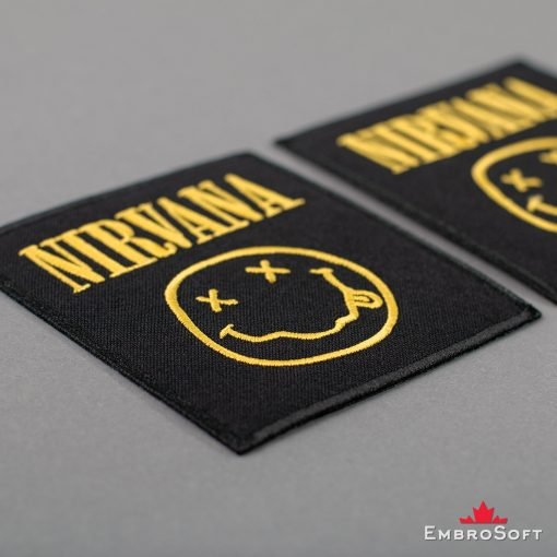 Nirvana Logo Embroidered Patch (3.5″ x 3.8″) Music